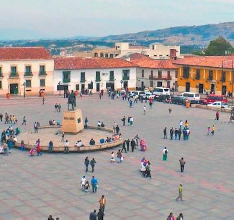 Plaza de Bolivar Tunja